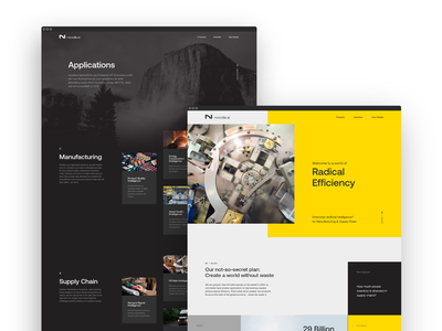 Website ux ui branding artificial intelligence rebrand design