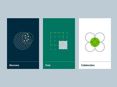 Collibra Illustrations vector data design branding rebrand