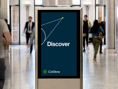 Collibra Canary Wharf Interior Activation design vector illustration animation branding rebrand