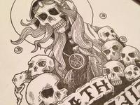 Life and Death - Death Closeup