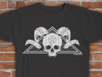 Skull of the Devourer - Tee Design