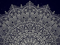 Simple Mandala mess-about