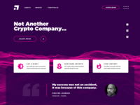 Daily UI #3 - Landing Page Design