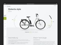 Redesign Hercules Bikes Website