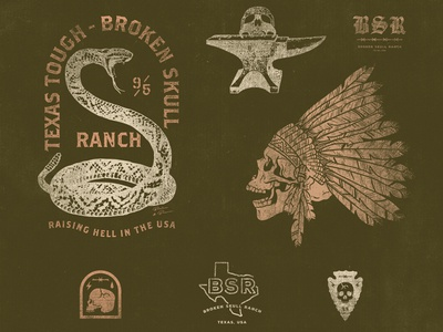 Broken Skull Ranch Apparel Graphics