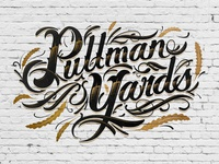 Pullman Yards Lettering