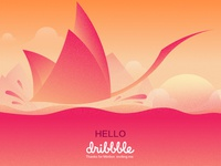 Hello~Dribbble