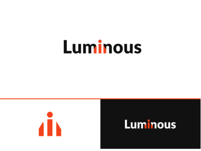 Luminous Holdings illustrator mordern real estate logo real estate branding creative logo logo real estate