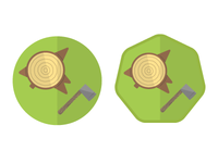 Stump And Axe