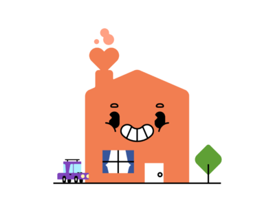 Love Thy Home character design colorful bright illustration cute social distancing isolation quarantine home love stay home