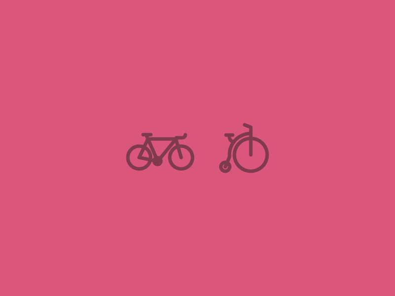 Bikes bike penny farthing icon everyone does it