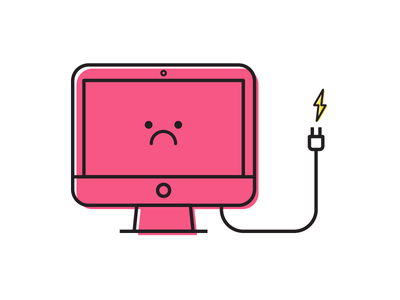 No Power Captain dead power out mac monitor character