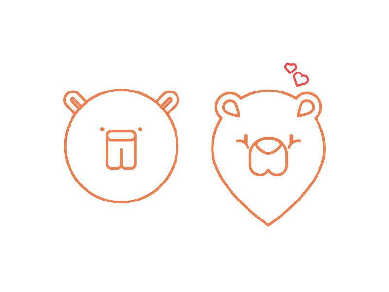 Shapely bears 01