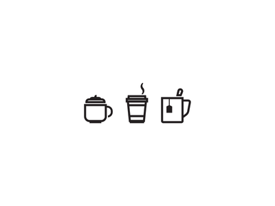 Weekly Icons - Hot Beverages