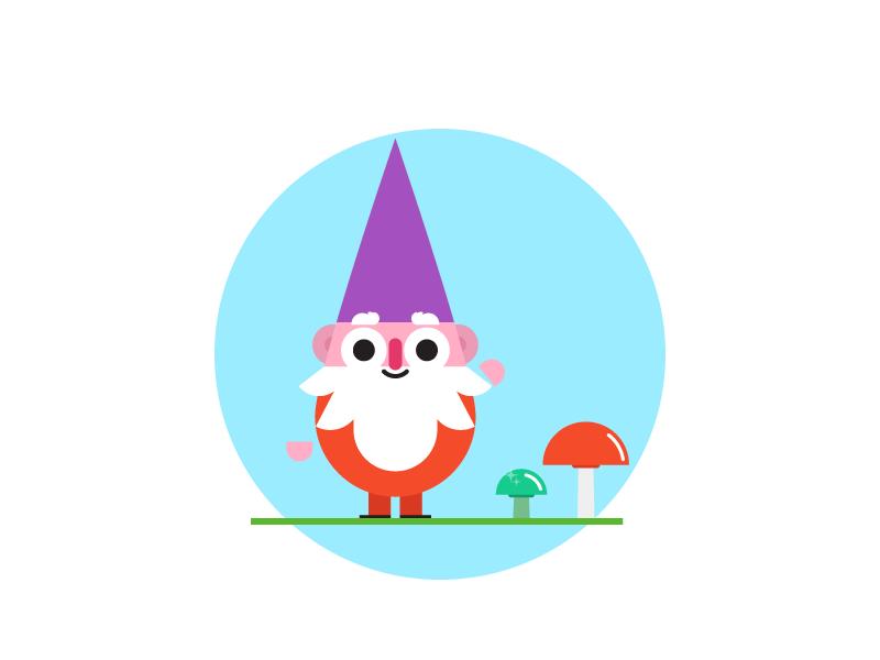 Gnomey shrooms gnome lil dude hat beard
