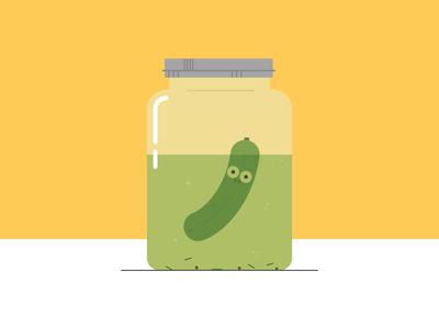 Pickle In A Jar pickle gherkin jar