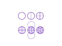 Step By Step Globe Icon