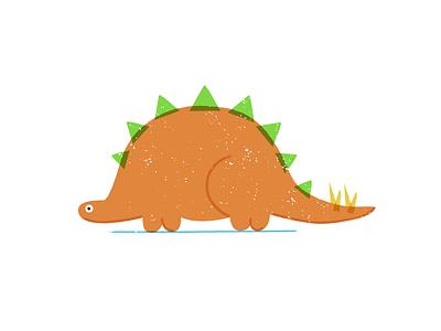 Badly Drawn Dino stegosaurus derpy badly drawn dinosaur