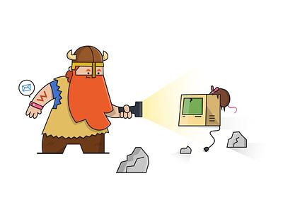Hi Tech Viking youve got mail touch rat wrist tech viking