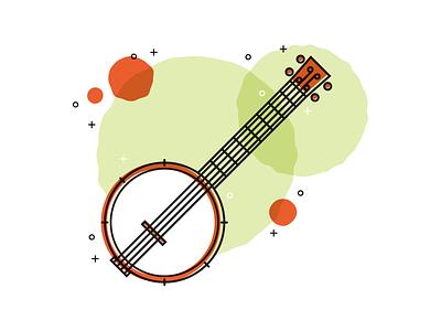 Banj-uke instrument music g-tar banjuke uke banjolele