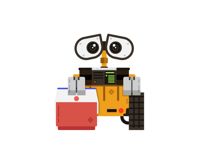 Wall E Cartoon Characters : Doolup character challenge wall e by jason smith