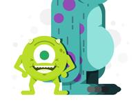 Doolup - Character Challenge - Mike Wazowski