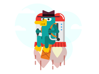 DCC - Perry the Platypus