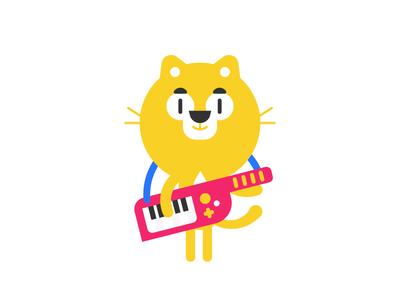 Keytar Kitty