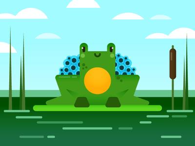 Mumma Frog