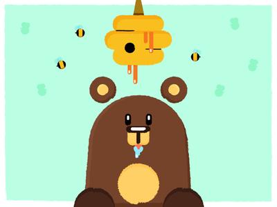 Oh That Greedy Bear
