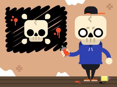 Skid - Skull Kid
