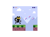 Spike Cat Run!
