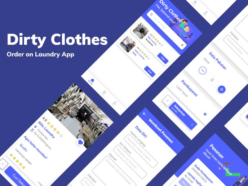Order on Laundry App