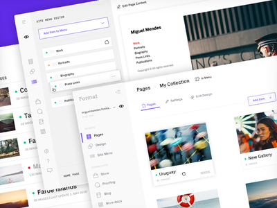 A new Format.com web redesign format