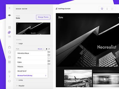 A new Format.com (Design Editor) design editor web redesign format