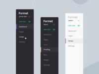 Format sidebar real