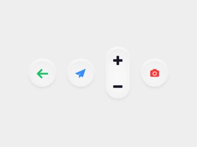 Embossed UI