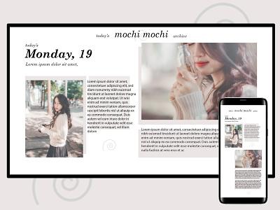 UI Daily Challenge Day 35 pastel kawaii 35 web ux app design daily challenge ui
