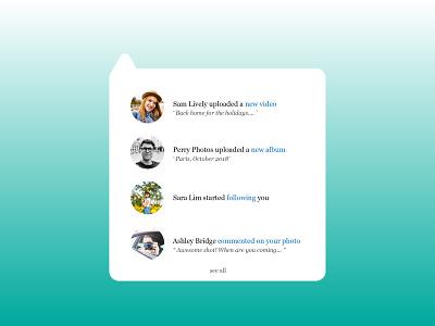 Activity UI web ux design daily challenge ui