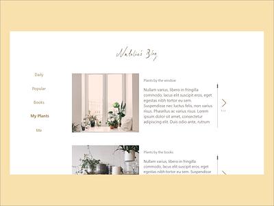 Web Design - Blog 2 blog adobe web ux daily challenge ui design