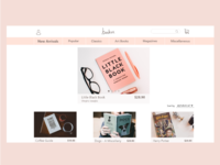 Web Design - Bookstore