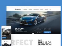 Lexus.co.za UI Enhancement