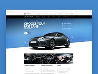 Lexus.co.za Product Page