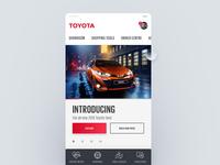Toyota.co.za Mobile Concept