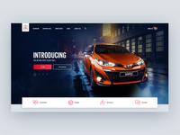 Toyota.co.za Desktop Concept