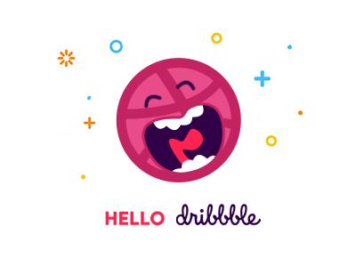 Hello Dribble thanks invite dribbble debute