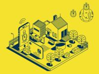 MASTER CARD_City citizens_illustration_iconography