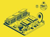 MASTER CARD_City communication_illustration_iconography