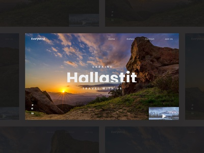 Travel | web design