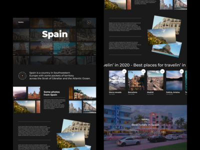 Travel company | Web page typography inspiration designs minimal like design ux uiux ui comment